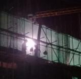 淄博联通路一工地治噪、禁噪期内施工被查