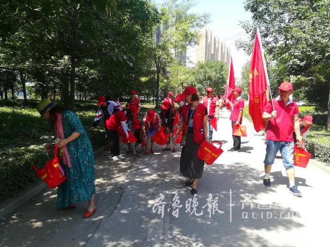 世界环境日,巨野环保局联合义工开展绿色公益活动