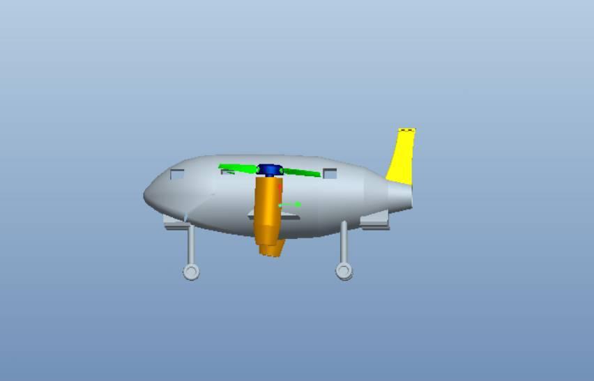 山东省大学生创意飞行器设计大赛专业组作品欣赏(30)