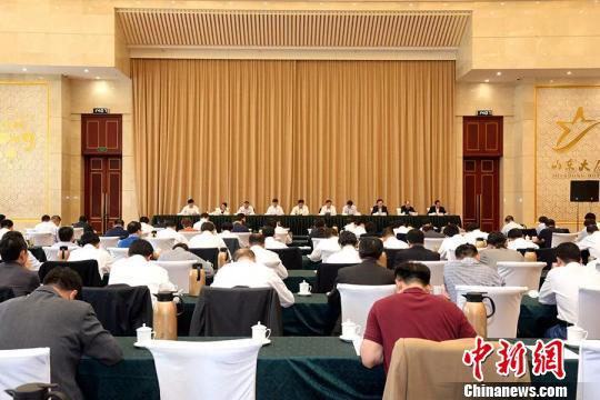 山东政法机关合力服务新旧动能转换