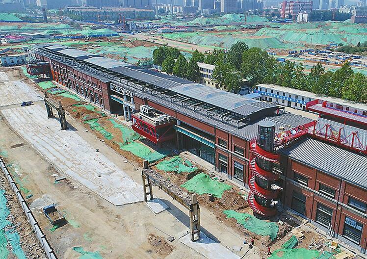 """济南CBD文化服务中心基本建成,来看看济南的""""798"""""""