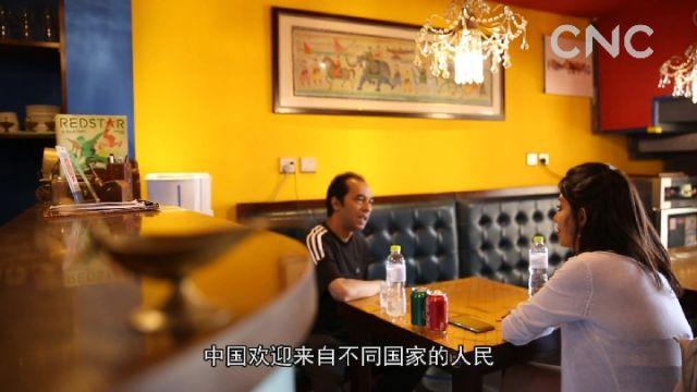 洋记者上合日记|青青之岛 浓浓情缘