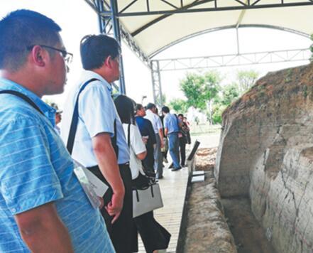 齐国故城国家考古遗址公园排水道口园区建成开园