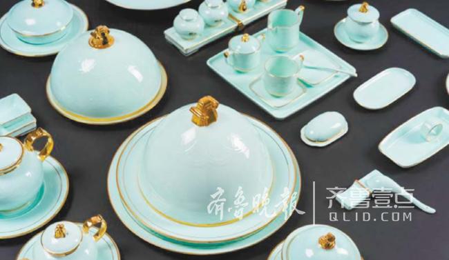 """山东华青瓷亮相上合餐桌,饱含""""海岱文化""""元素"""