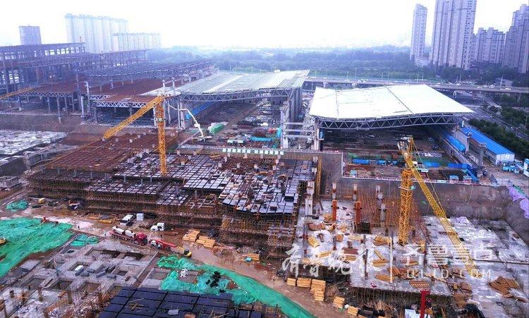 最新进展:济南西部会展中心即将封顶