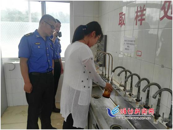 潍坊市多部门联合复检 保障供水安全