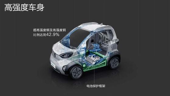 新能源汽车宝骏E100青岛正式上市,4.68万起,续航达200公里