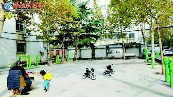 奎文仨小区提升改造居民乐开花 不需要掏一分钱