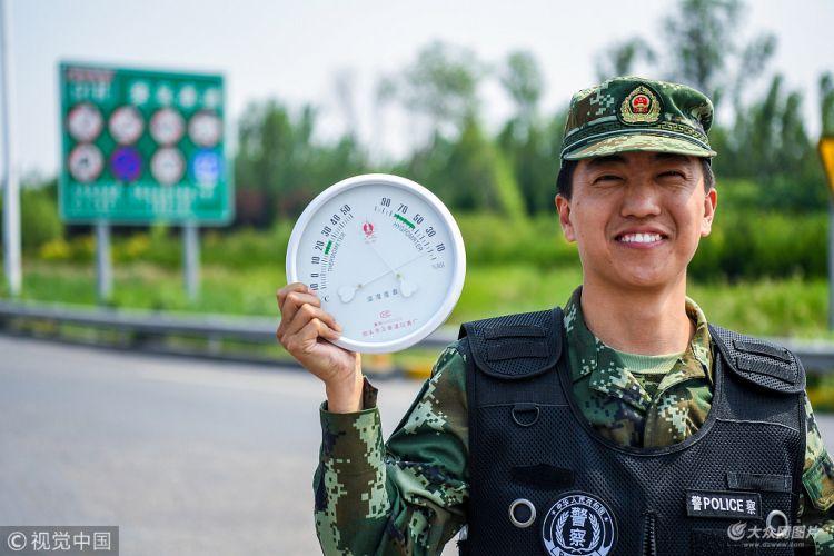 """东营进入高温天气 室外工作者""""烤验""""模式上线"""