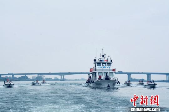 伏季休渔以来广东渔政查获涉嫌违规渔船509艘