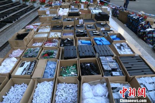 四川等地警方侦破无线考试作弊器材黑色产业链 涉案金额数亿元