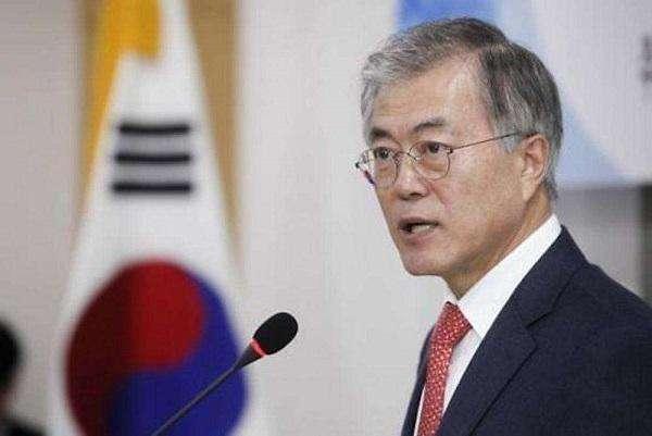 韩联社:文在寅将于14日接见美国务卿与日外长
