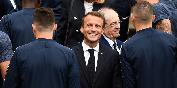 马克龙世界杯前谈足球 称自己在球场上不轻言放弃