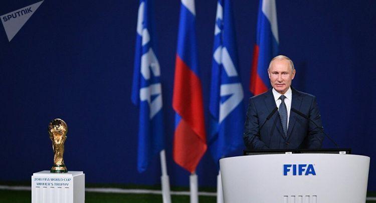 普京:俄罗斯已准备好举办世界杯足球赛
