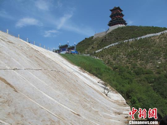 京西废矿上建起首都绿色生态屏障