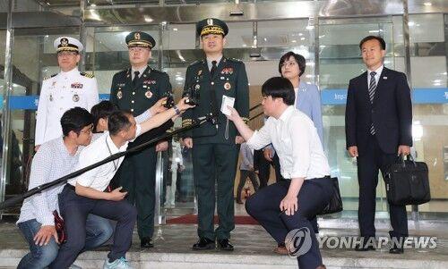 朝韩将军级军事会谈14日举行 韩方代表启程赴会