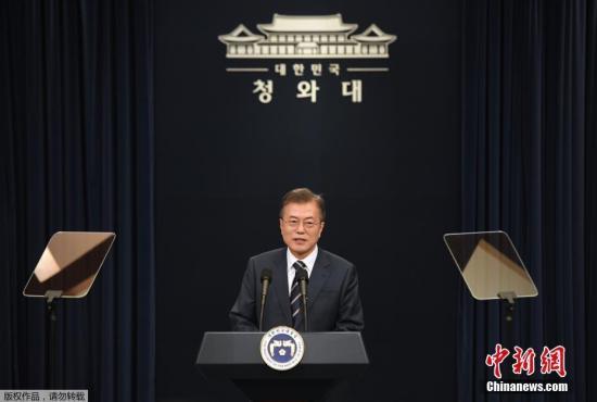 特朗普称将中断韩美军演 文在寅欲开会商讨应对方案