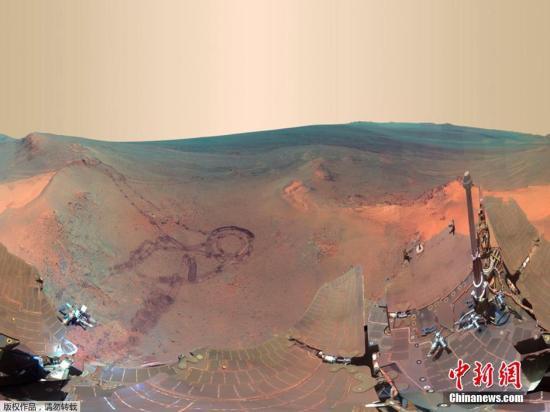 """火星沙尘暴遮天蔽日 """"机遇号""""探测器失联了"""