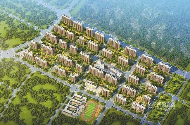 78栋楼同时开建,济南郭董片区安置房年底前主体封顶