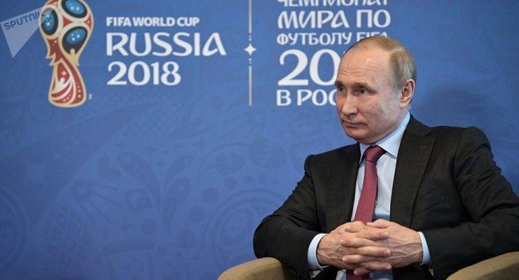 克宫:普京在世界杯开幕式后继续与外国同仁进行交流