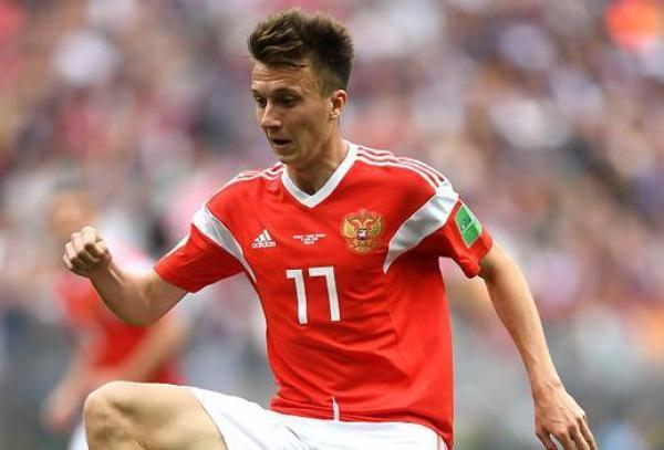 22岁戈洛温一战惊天下 俄罗斯5个进球中4个由其主导