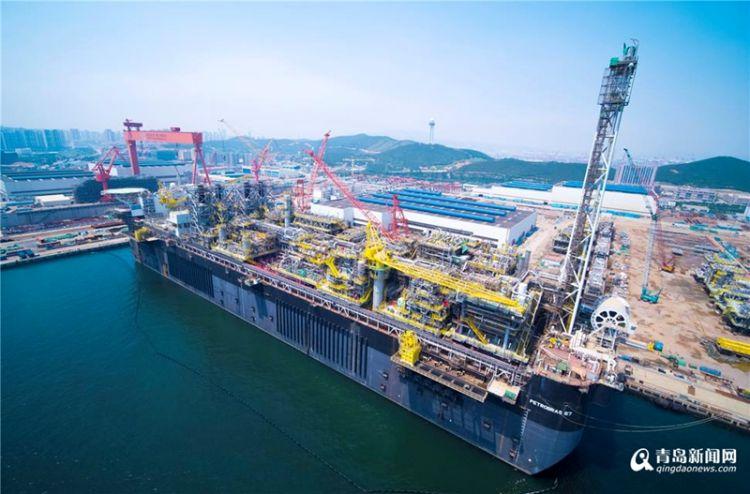 """""""国之重器""""接连驶出 西海岸推动海洋经济走向深蓝"""
