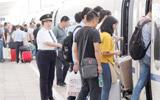 淄博火车站预计发送旅客11万人次