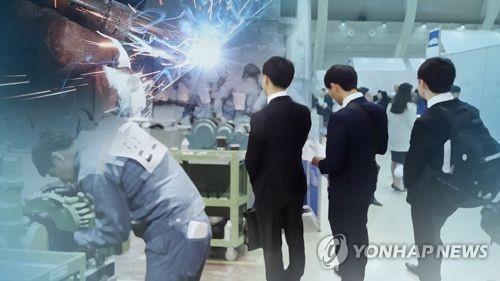 韩5月就业人口同比增7.2万人 失业率4%