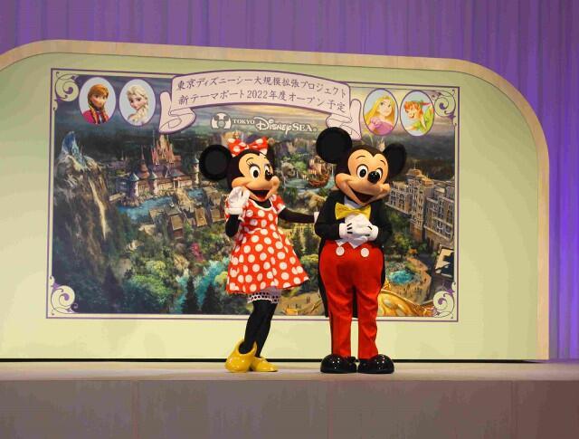 """东京迪士尼乐园拟大规模扩建 将新增""""冰雪奇缘""""等三大主题园区"""