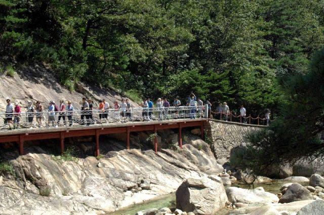 韩国考虑重启朝鲜旅游项目