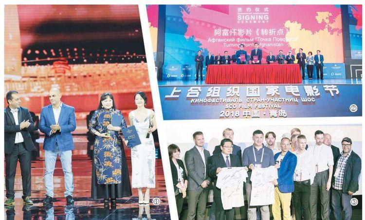 首届上合组织国家电影节在青岛闭幕 12个国家的55部影片与观众见面