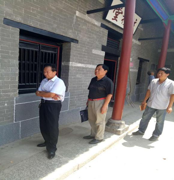 金乡县六处文物修缮工程顺利通过验收评估