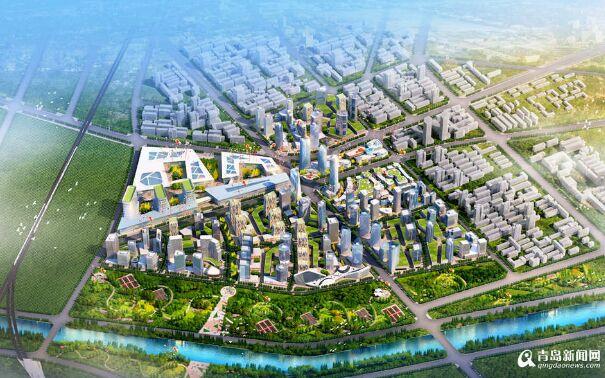 青岛西客站年底要开跑 西海岸将崛起一座高铁新城