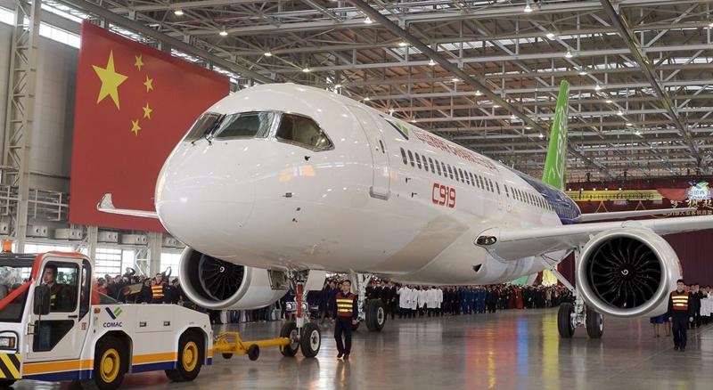 全国性航空产业集群加速成型 未来C919的订单数量将突破1000架