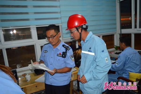 广饶县公安局开展剧毒易制爆危化品安全检查活动