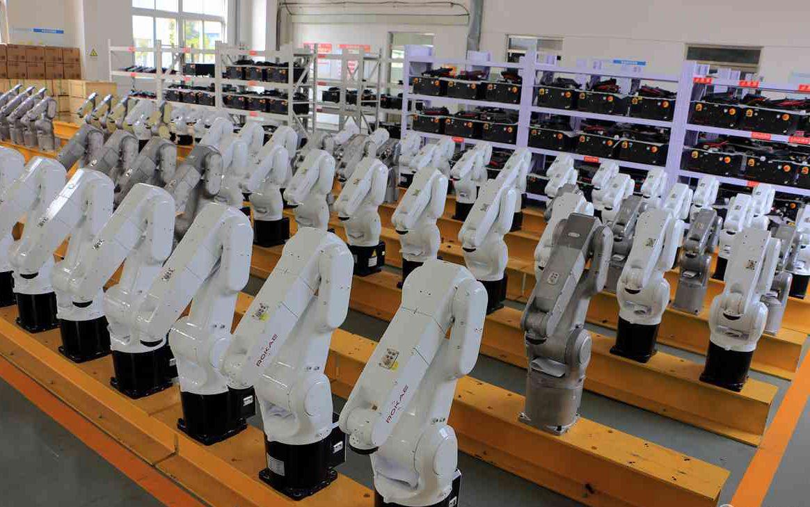 """探访济宁工业机器人产业基地 看机器人""""诞生""""记"""