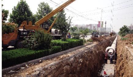 东平县实施排水改造工程 化解城市泄洪难题