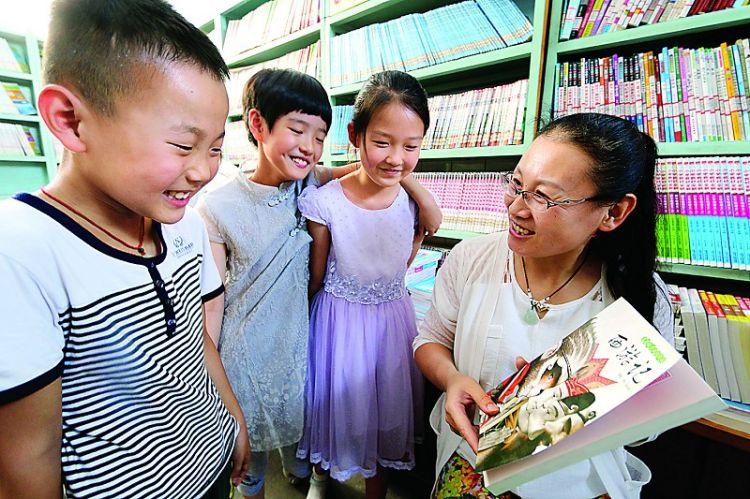 """艾山街道中心小学开展""""我给学生荐本书""""活动"""