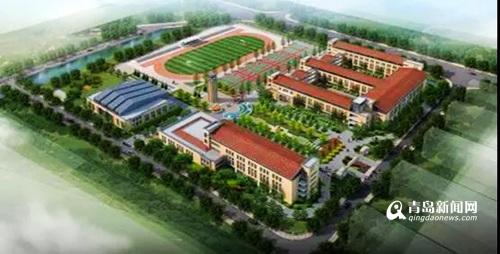 河西中学正式开建 规划48个班可容纳学生2400人(图)