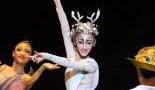 儿童版芭蕾《九色鹿》上演 演员平均年龄9岁