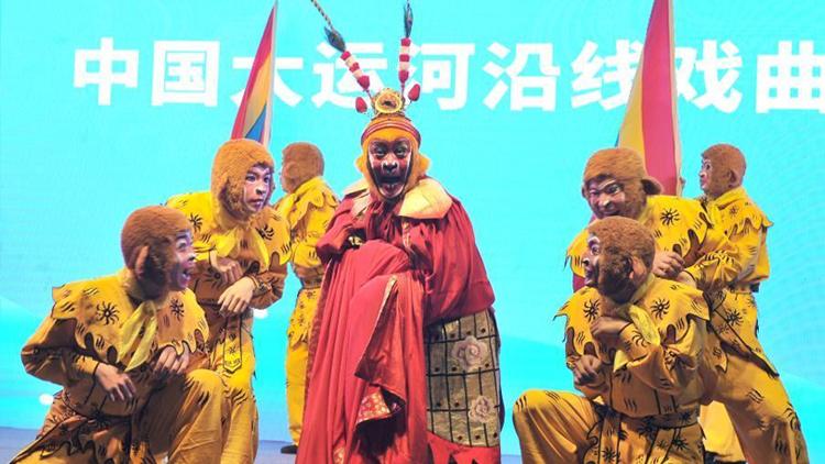 大运河传统节目展千年古运河文化