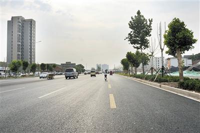 黄河路提升改造道路主体工程6月底完工