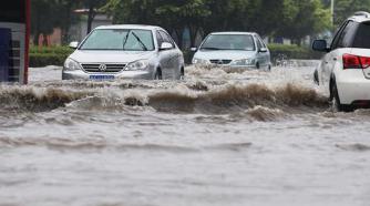 暴雨即将来袭 淄博市这些路段易积水