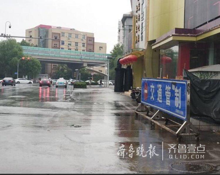 暴雨来临前,济南两铁路桥做好防范准备