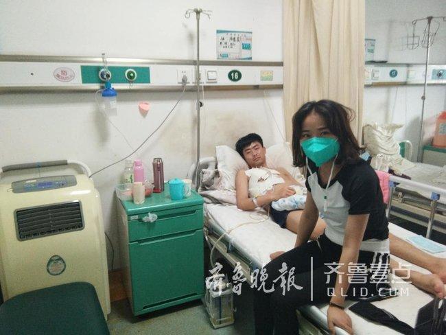 济南小伙身患重病八年,好姐姐日夜守护不离不弃