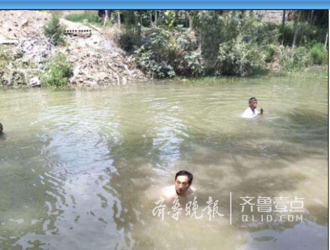 郓城文化志愿者送戏下乡,遇儿童落水舍身相救
