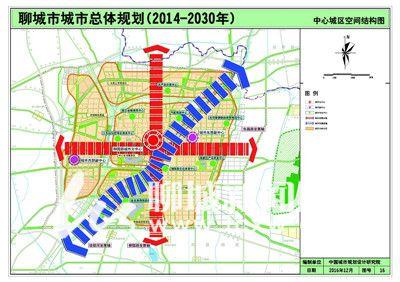《聊城市城市总体规划(2014—2030年)》城乡空间布局解读