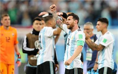 【世界杯】阿根廷2比1战胜尼日利亚 晋级十六强