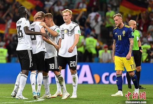 德国两名足协官员在球队逆转瑞典后挑衅对手被罚款