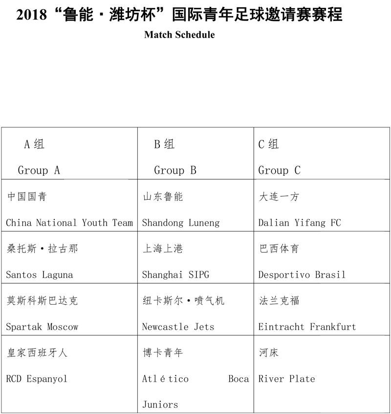 2018潍坊杯赛程-1